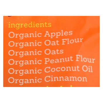 Riley's Organics Organic Dog Treats, Apple Recipe, Small  - Case Of 6 - 5 Oz