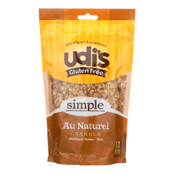 Udi's Granola, Au Naturel  - Case Of 6 - 11 Oz