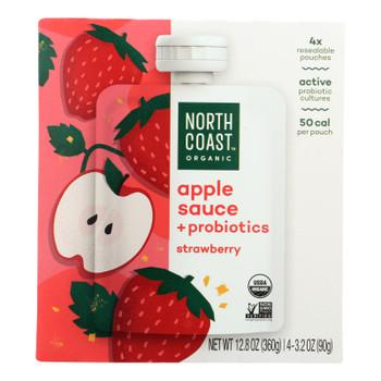 North Coast - Aplsce Probiotic Strawberry - Case Of 6 - 4/3.2 Oz