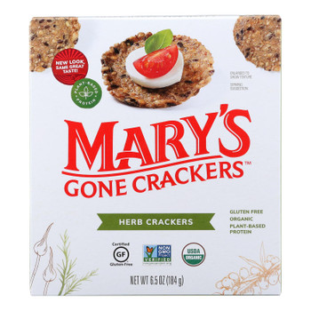 Mary's Gone Crackers Herb Crackers  - Case Of 6 - 6.5 Oz
