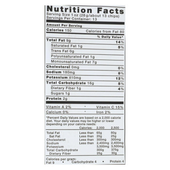 Kettle Brand - Potato Chips Jalapeno - Case Of 9 - 13 Oz