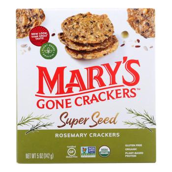 Mary's Gone Crackers - Cracker Rosemary - Case Of 6 - 5.00 Oz