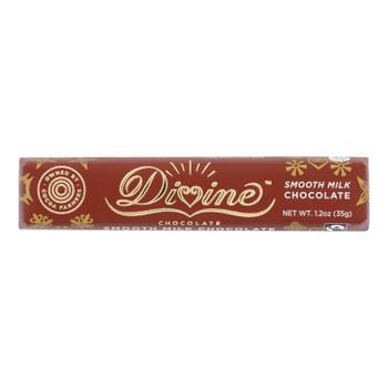 Divine - Snack Bar Milk Chocolate - Case Of 18 - 1.2 Oz