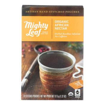 Mighty Leaf Tea - Tea Afrcn Nctr Stched - Case Of 6 - 15 Bag