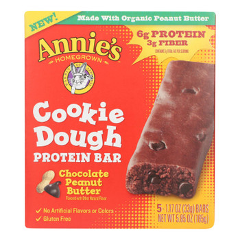 Annie's Homegrown - Kd Cookie Dgh Ptnbr Chocolate  - Case Of 8 - 5.85 Oz