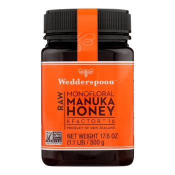 Wedderspoon Manuka Honey, Kfactor 16,  - Case Of 6 - 17.6 Oz