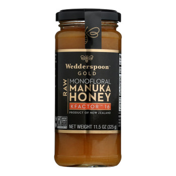 Wedderspoon Manuka Honey, Kfactor 16,  - Case Of 6 - 11.5 Oz