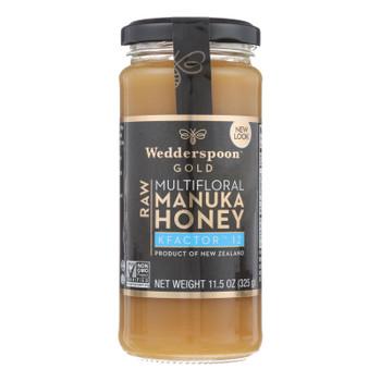 Wedderspoon Manuka Honey, Kfactor 12,  - Case Of 6 - 11.5 Oz