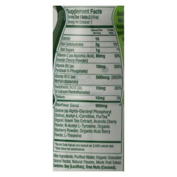 Brain Juice - Brain Juice Peach Mango - Case Of 12 - 2.5 Fz