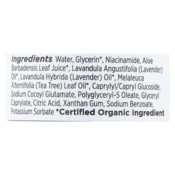 Goddess Garden - Spray Aloe Gel Lavender - 1 Each - 6 Oz