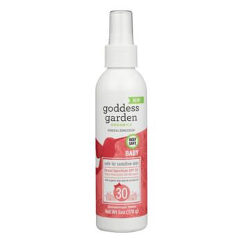 Goddess Garden - Sunscrn Baby Spf 30 Spray - 1 Each - 6 Oz