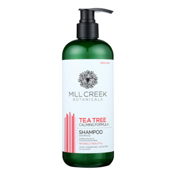 Millcreek Botanicals Tea Tree Shampoo  - 1 Each - 14 Fz