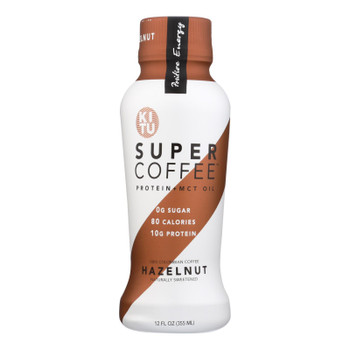 Kitu - Coffee Super Hazelnut - Case Of 12 - 12 Fz