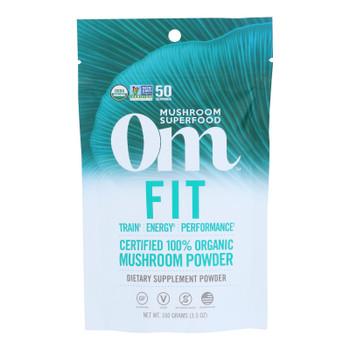 Om - Fit Powder Organic 100grm - 1 Each - 3.5 Oz