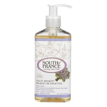 South Of France - Hand Wash Violet Bouquet - 1 Each - 8 Oz