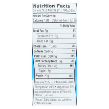 Iconic Protein Grass Fed Protein Drink - Case Of 12 - 11.5 Fz