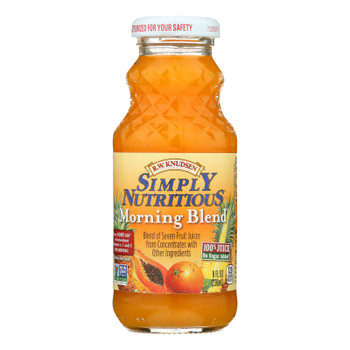 R.w. Knudsen Family Simply Nutritious Morning Blend  - Case Of 12 - 8 Fz