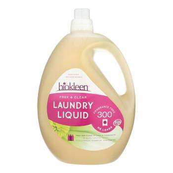 Biokleen Free & Clear Laundry Liquid  - 1 Each - 150 Fz