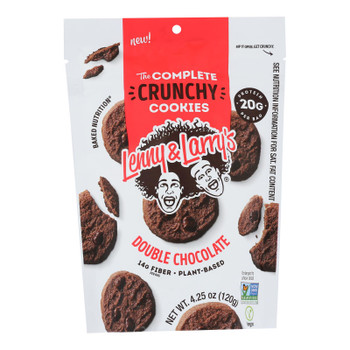 Lenny & Larry's - Complete Cky Double Chocolate - Case Of 6 - 4.25 Oz