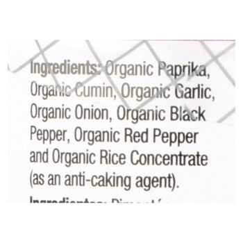 Badia Organic Chili Powder  - Case Of 8 - 2 Oz