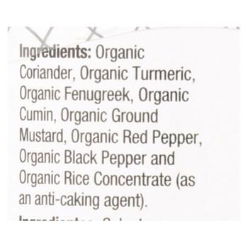 Badia Organic Curry Powder  - Case Of 8 - 2 Oz