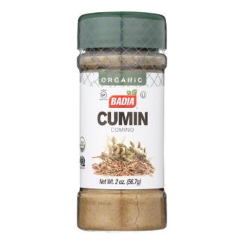 Badia Organic Cumin  - Case Of 8 - 2 Oz