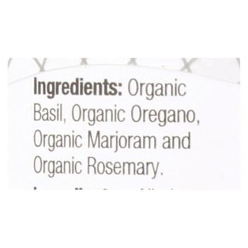 Badia Organic Italian Seasoning  - Case Of 8 - .75 Oz