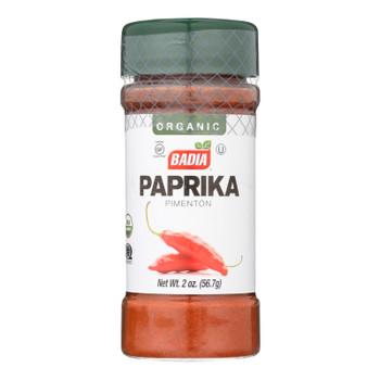 Badia Organic Paprika  - Case Of 8 - 2 Oz