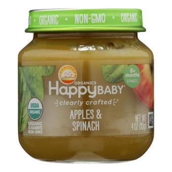 Happy Baby - Cc Apple Spinch Stg2 - Case Of 6 - 4 Oz
