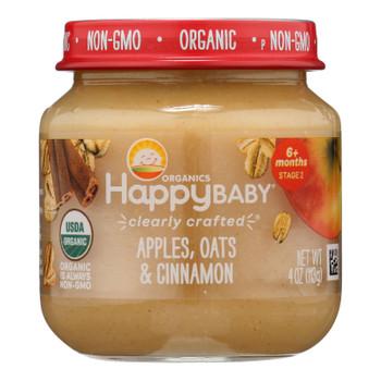 Happy Baby - Cc Apple Oat Cinnamon Stg2 - Case Of 6 - 4 Oz