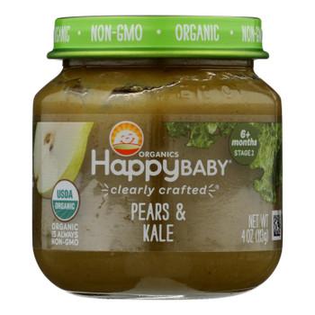 Happy Baby - Cc Pear Kale Stg2 - Case Of 6 - 4 Oz
