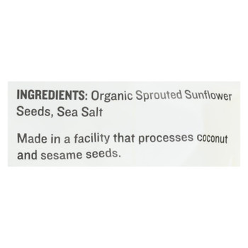 Go Raw Sprouted Seeds, Sunflower With Celtic Sea Salt  - Case Of 6 - 14 Oz
