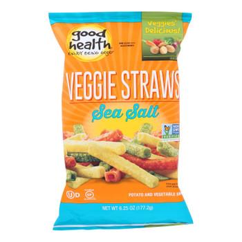 Good Health Sea Salt Veggie Straws  - Case Of 10 - 6.25 Oz