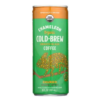 Chameleon Cold-brew - Cld Brew Coffee Churro - Case Of 12 - 8 Fz