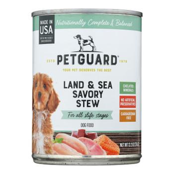 Petguard - Adlt Dog Lnd&sea Sav Stew - Case Of 12 - 13.2 Oz