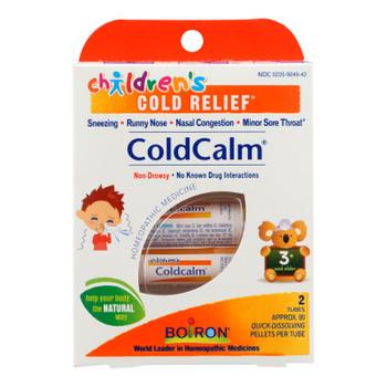 Boiron - Children's Cold Calm Pellets - 2 Doses