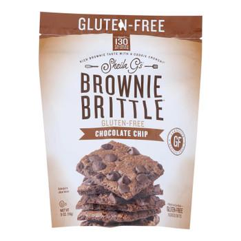 Sheila G's - Brwnie Brtl Chocolate Chip Gluten Free - Case Of 12-4.5 Oz