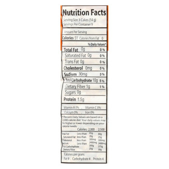 Suzie's, Thin Cakes Puffed Crackers, Buckwheat, Quinoa & Flax - Case Of 12 - 4.6 Oz