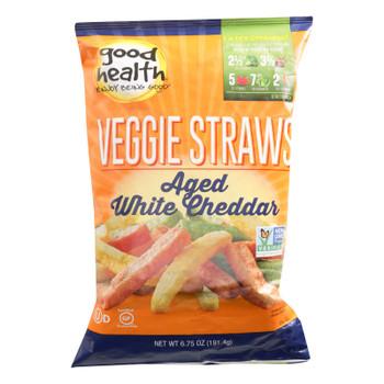 Good Health - Veggie Straws Agd Wht Chd - Case Of 10 - 6.25 Oz