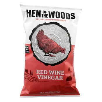 Hen Of The Woods - Chips Ketl Red Wine Ving - Case Of 12-6 Oz