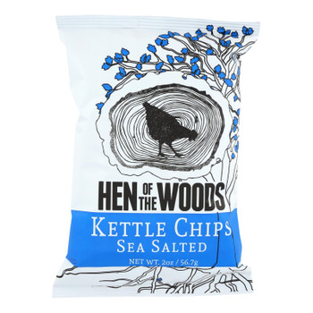Hen Of The Woods - Chips Kettle Ssalted - Case Of 30-2 Oz