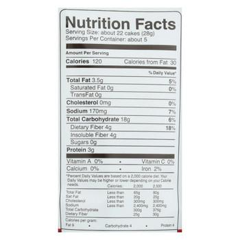 Skinnypop Mini Sea Salt Popcorn Cakes  - Case Of 4 - 5 Oz