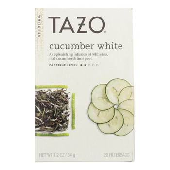 Tazo Cucumber White Tea  - Case Of 6 - 20 Bag