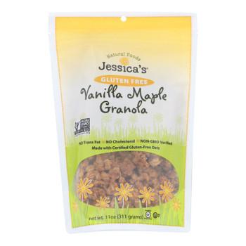 Jessica's Natural Foods Gluten Free Vanilla Maple Granola  - Case Of 12 - 11 Oz