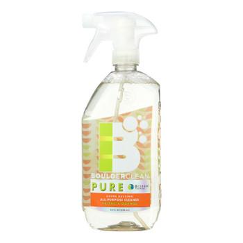 Boulder Clean Pure Valencia Orange All-purpose Cleaner - Case Of 6 - 28 Fz