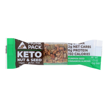 Munk Pack - Keto Nt&sd Pmknsd Cinnamon Almond - Case Of 12 - 1.23 Oz