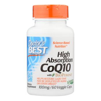 Doctor's Best - Coq10 Hi Abs 100mg - 1 Each-60 Vcap