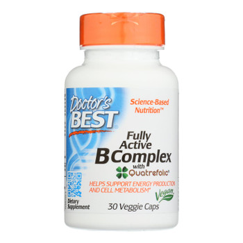 Doctor's Best - B Complex Fully Active - 1 Each-30 Vcap