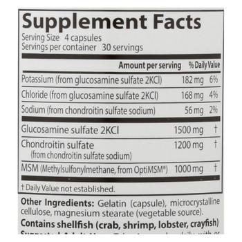 Doctor's Best - Glucsamine Chondrtn Msm - 1 Each-120 Cap
