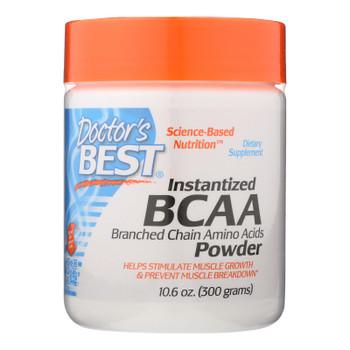 Doctor's Best - Bcaa Powder Instantized - 1 Each-300 Grm